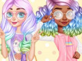 Games Princesses Kawaii Looks and Manicure